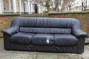 oversized sofa disposal