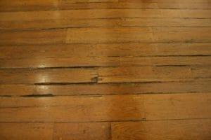 wood floor failure signs