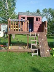 Backyard Playhouse Disposal in Bradenton