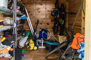 DIY Shed Clean Out in Bradenton